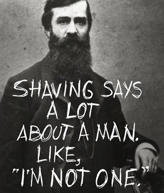 Sanningen om skägg.