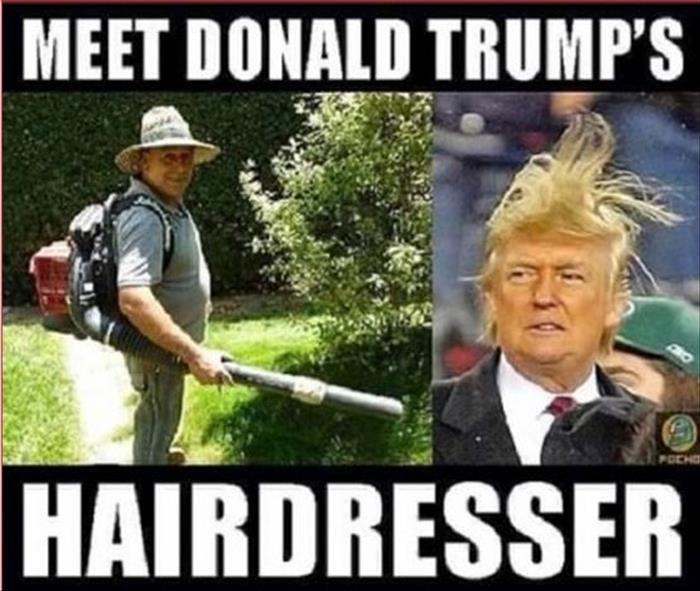 Trumps frisör