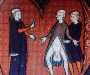Världens fulaste kläder? På medeltiden var Farbror Torsten fotomodell. Efter detta blev han avrättad.