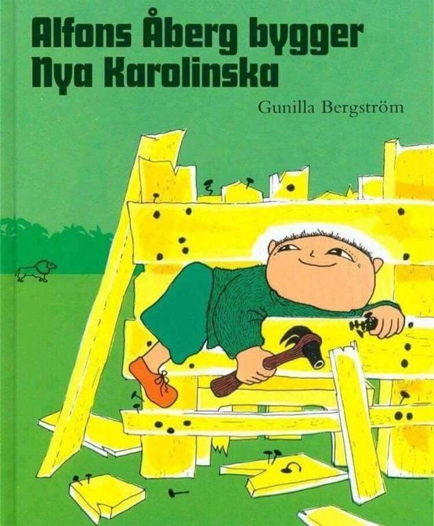 Alfons Åbergs bygger Nya Karolinska