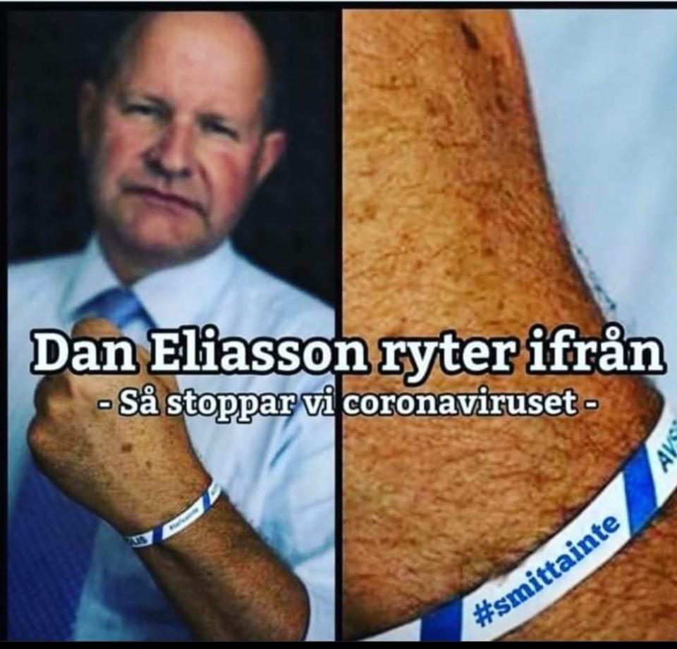 Dan Eliasson smitta-inte-armbandet