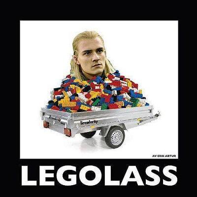 Dags för ordvitsar med filmtema. Legolass är en av de mest torra och dåliga skämten.