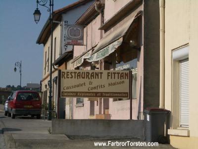 Snuskiga och roliga namn på restauranger - Restaurant Fittan.